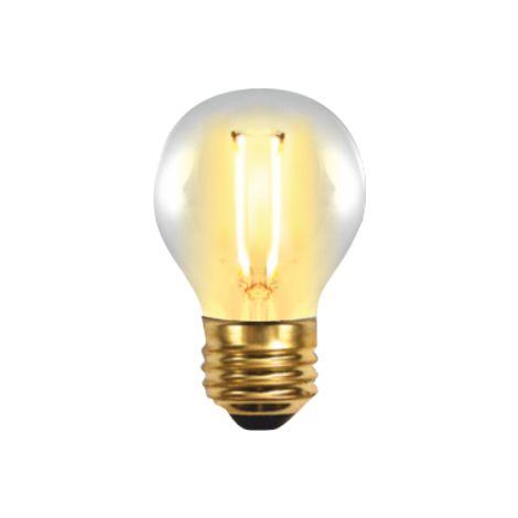 Silver Electronics Bombilla EDISON LED Filamento Esferica 2W E27