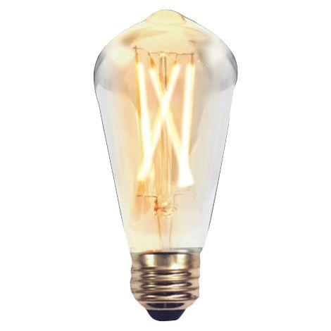 Silver Electronics Bombilla EDISON LED Filamento Pera 2W E27