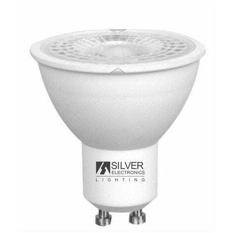 Silver Electronics Bombilla LED Eco DICROICA 5W GU10 3000K 38º