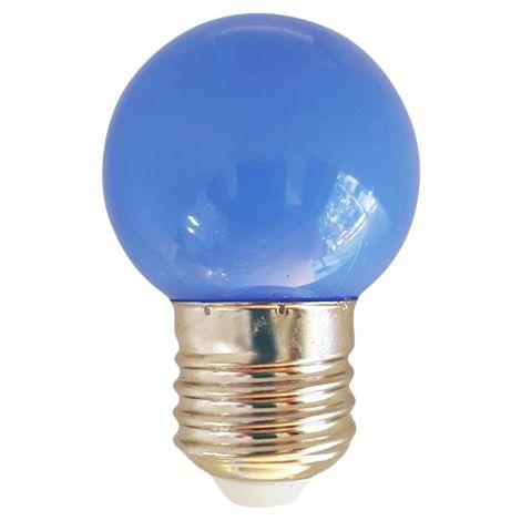 Silver Electronics Bombilla LED Esferica Amarillo 1W IP44
