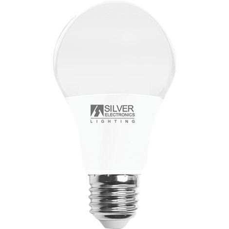 Silver Electronics Bombilla LED Estandar 7W E27 3000K