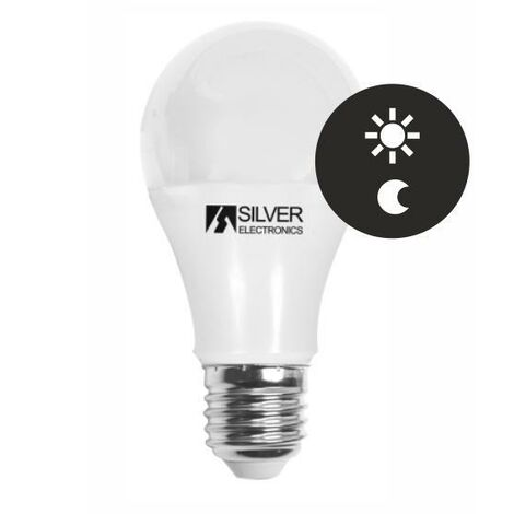 Silver Electronics Bombilla LED Estandar Sensor 10W 3000K