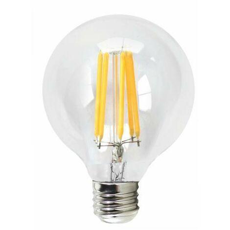 Silver Electronics Bombilla LED Filamento Mate Gobo 6W E27 3000K