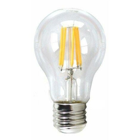 Silver Electronics Bombilla LED Filamento Regulable Esferica 4W E14 3000K
