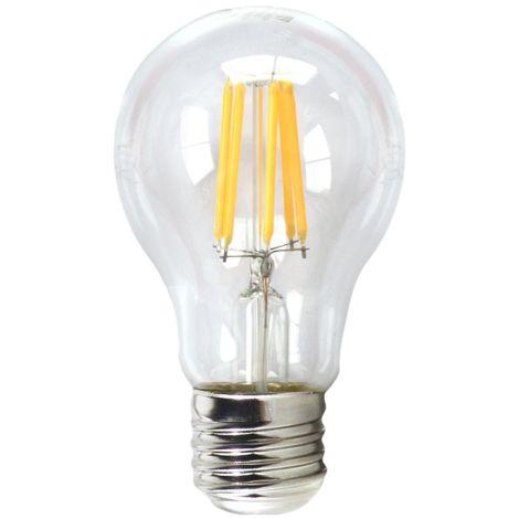 Silver Electronics Bombilla LED Filamento Regulable Esferica 4W E14 3000K