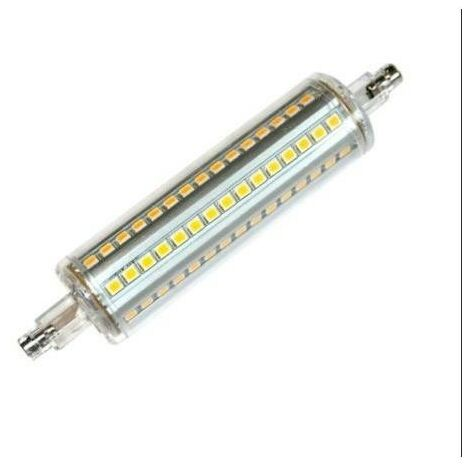 Silver Electronics Bombilla LED Lineal 118mm 10W 3000K 360º