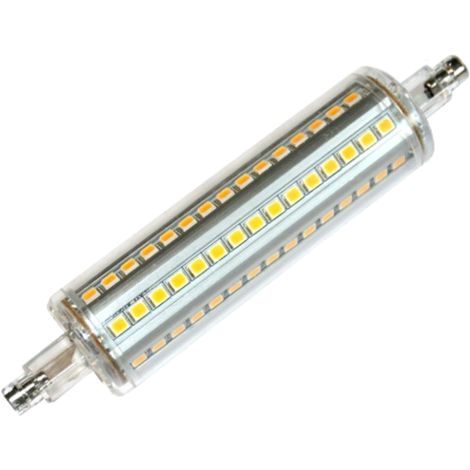 Silver Electronics Bombilla LED Lineal Regulable 118mm 16W 3000K 360º