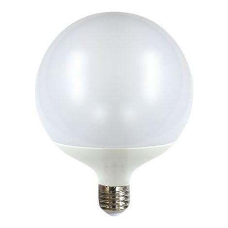 Silver Electronics Bombilla LED Super Globo 15W E27 3000K