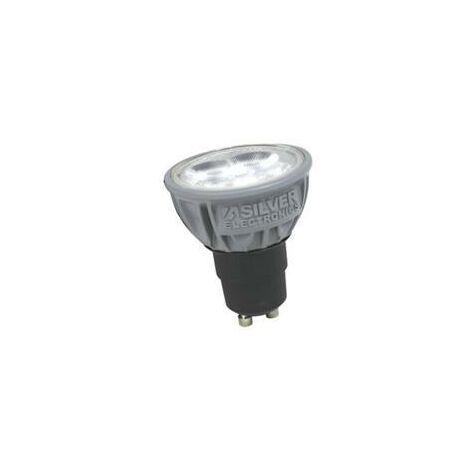 Silver Electronics Bombilla LEDPRO 5W GU10 230V 2700K Gris