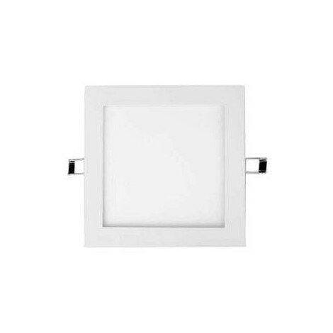 Silver Electronics Foco Downlight GORT cuadrado 18W 3000K Blanco Empotrar