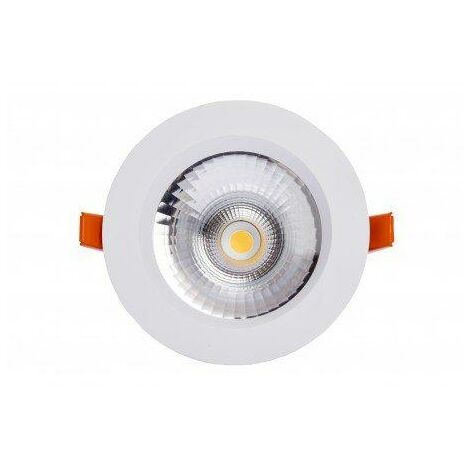 Silver Electronics Foco Downlight PLEX 15W 3000K Blanco