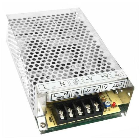 Silver Electronics Fuente alimentacion 100W 12V IP20