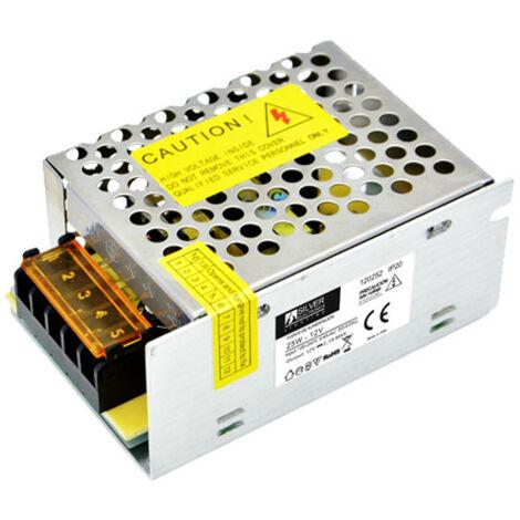 Silver Electronics Fuente alimentacion 20W 220VAC a 12VDC IP67