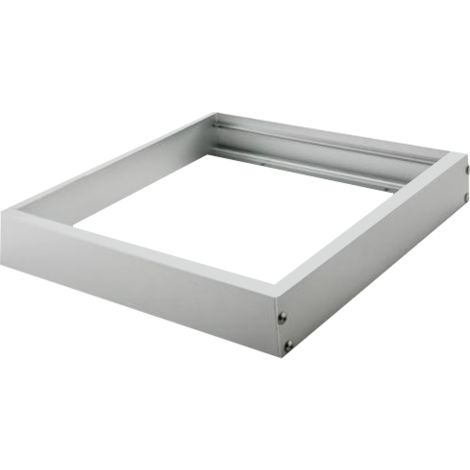 Silver Electronics Marco empotrable panel LED 600x600mm