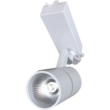 Silver Electronics Proyector de Carril AVALON Blanco 30W 3000K 24º
