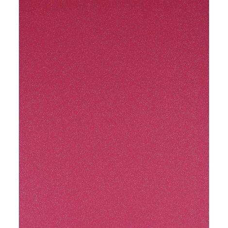 Silver Glitter Fuchsia Wallpaper Non-Woven Vinyl Sparkle Shimmer Pink Grandeco