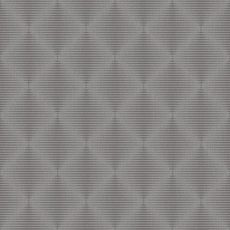 Silver Grey Diamond Geometric Wallpaper Metallic Shimmer Vinyl Paste The Wall