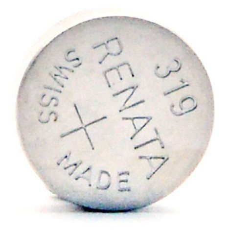 Silver oxide button cell 319 RENATA 1.55V 21mAh