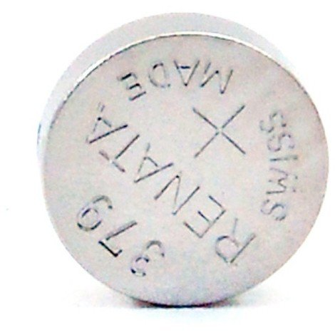 Silver oxide button cell 379 RENATA 1.55V 16mAh