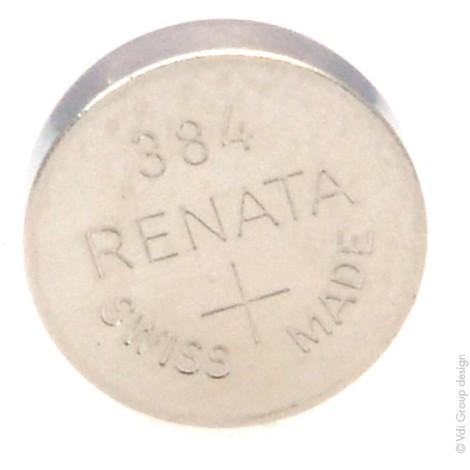 Silver oxide button cell 384 RENATA 1.55V 45mAh