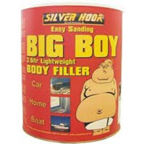 Silverhook Big Boy Body Filler Paste for Paint & Dent Scratch Paintshops 3500 ml