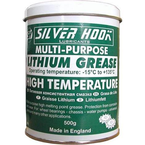 Silverhook Lithium Grease Extreme Pressure, High Temperature Multi Purpose 500 g