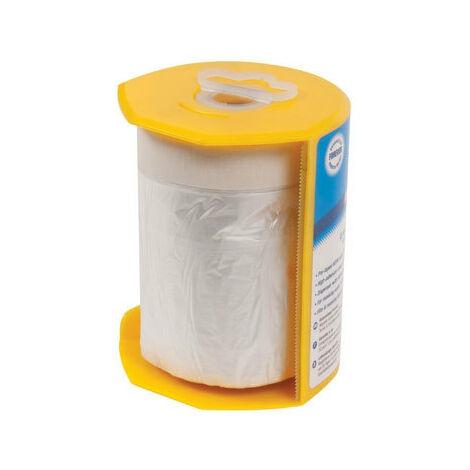 Silverline 100284 Masking & Shield Tape & Dispenser 550mm x 33m