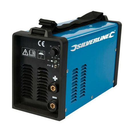 Silverline 103597 Inverter Arc Welder 200A 20-200A