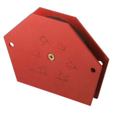 """main image of """"Silverline 148968 Welding Magnet 18kg (40lb)"""""""