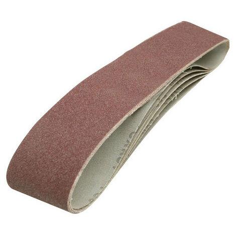 Silverline 186813 Sanding Belts 100 x 915mm 5pk 80 Grit
