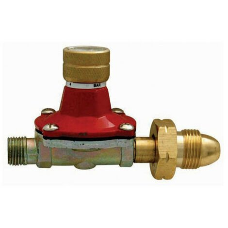 Silverline 196559 Gas Regulator 0.5-4 bar