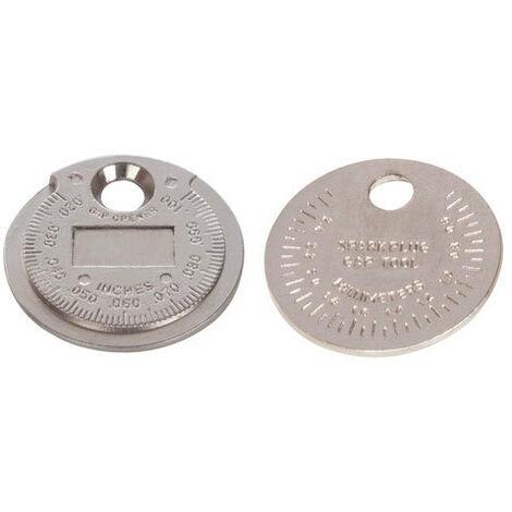 "Silverline 202148 Spark Plug Gap Tool 0.5 - 2.55mm / 0.02 - 0.1"""