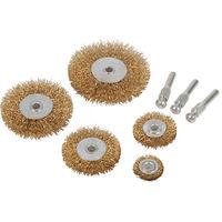 Silverline 228567 Wire Wheel Set 5pce 6mm Shank