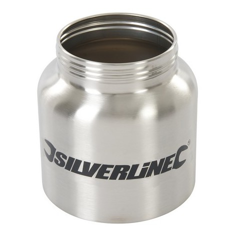 Silverline 269682 HVLP Sprayer Metal Bottle 800ml Metal Bottle 800ml