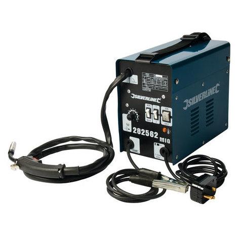 Silverline 282562 Gasless Turbo Mig 90A 50-90A