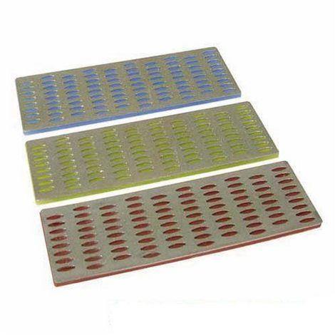 Silverline 349756 3 cartes diamant d'affûtage 50 x 150 mm