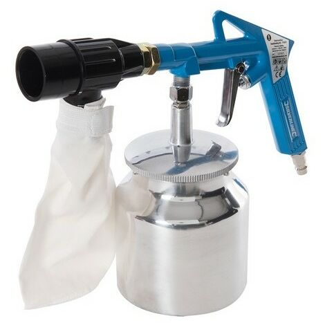 Silverline 372673 Recirculating Sandblasting Kit 6pce 03 - 4Bar (43 - 58psi)