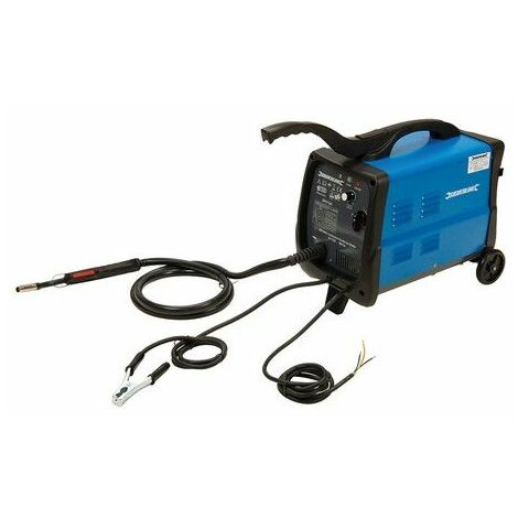 Silverline 380736 MIG/MAG Combination Gas/No Gas Welder 30-135A