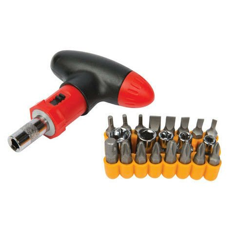 Silverline 380746 T-Handle Screwdriver Set 22pce 22pce