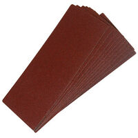 Silverline 415770 1/3 Sanding Sheets 10pk 60 Grit