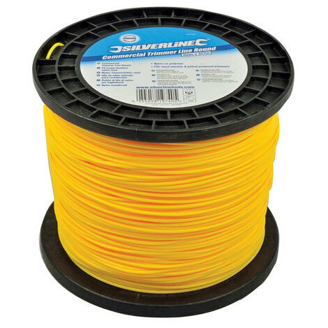 Silverline 427692 Commercial Trimmer Line Round 2mm x 377m