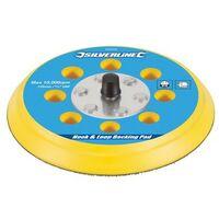 """Silverline 432202 Hook & Loop Backing Pad 125mm / 5/16"""" UNF"""
