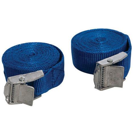 Silverline 449682 Buckled Straps Set 2pce 2.5m x 25mm