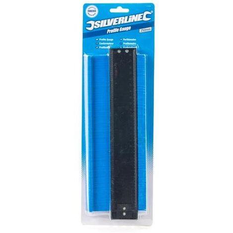 Silverline 473526 - Calibro per profili