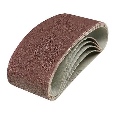 25 pezzi di tessuto nastro abrasivo 100 X 560 mm Grana 5 X 40//60//80//120//180 Nastro abrasivo Levigatrice a nastro