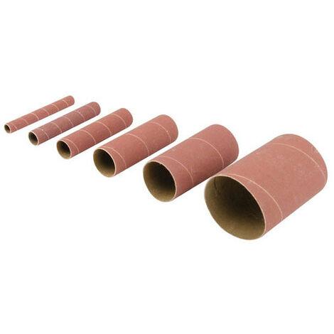 Silverline 509178 Aluminium Oxide Sanding Sleeves 6pce 6 x 240 Grit Sleeves