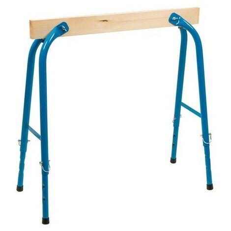 Silverline 513446 Wood Adjustable Trestle 150kg