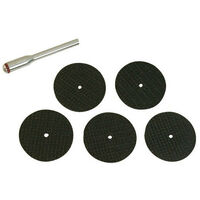 Silverline 580480 Resin Cutting Disc Kit 6pce 31mm