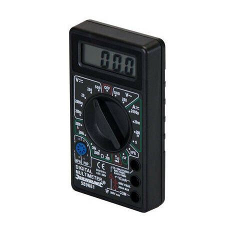 Silverline 589681 Digital Multimeter AC & DC