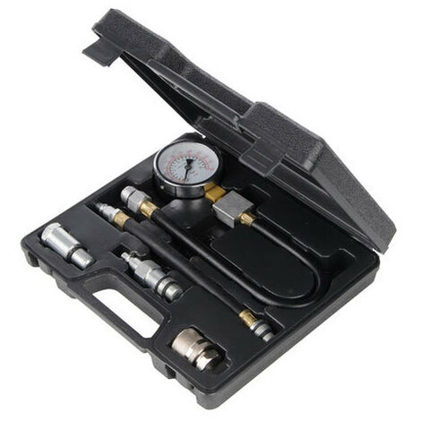 Silverline 598559 Petrol Engine Compression Testing Kit 5pce